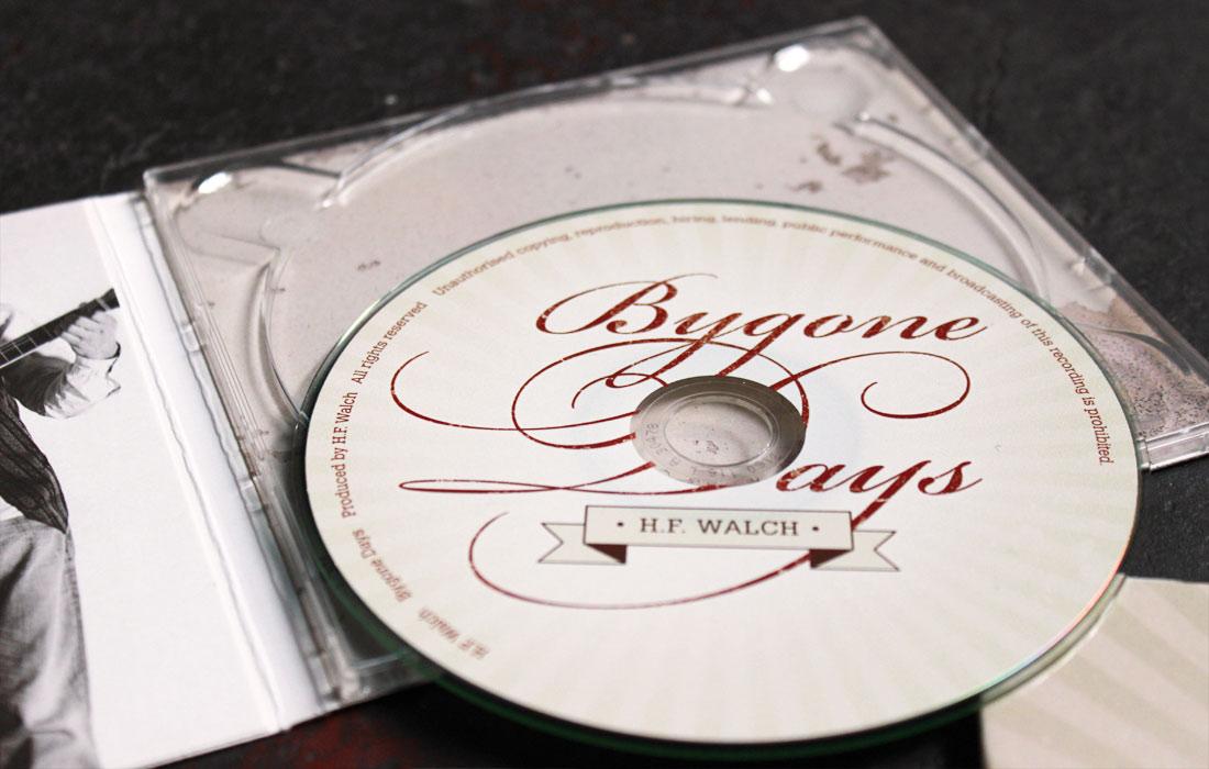 Projekt Bygone Days – Martin Eiter –Agentur für Grafik und Corporate Design