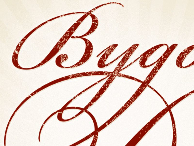 Vorschaubild – Projekt Bygone Days – Martin Eiter –Agentur für Grafik und Corporate Design