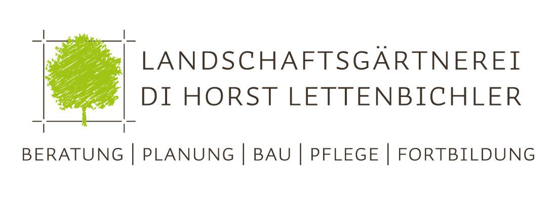 Logo – Landschaftsgärtnerei Horst Lettenbichler – Martin Eiter –Agentur für Grafik und Corporate Design