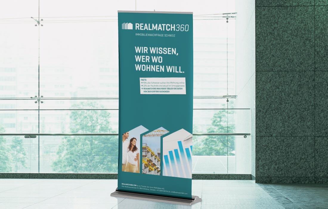 Projekt Realmatch360 – Martin Eiter –Agentur für Grafik und Corporate Design